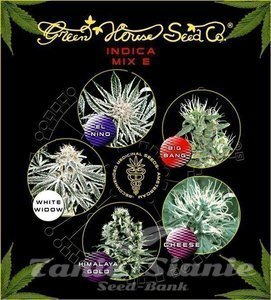 GREEN HOUSE SEEDS - Indica Mix E